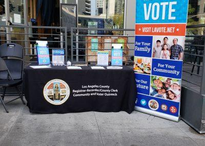 Voter Outreach Booth